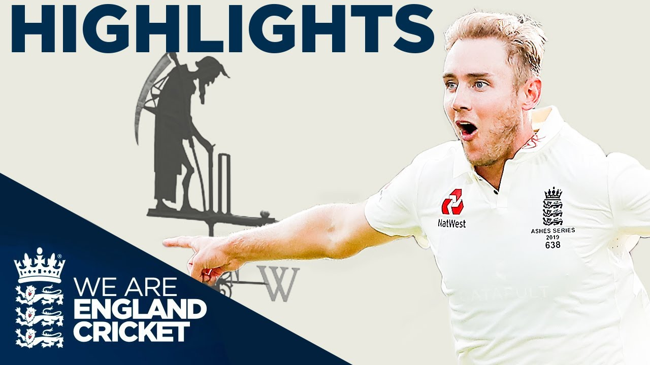 Burns Bairstow Hit 50 The Ashes Day 2 Highlights Second Specsavers Ashes Test 2019