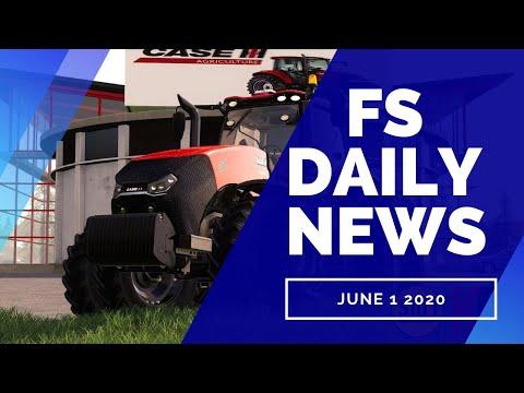 NEW CASE TRACTORS, NMC MODDING, PLUS CUSTOM MODDING | FS DAILY NEWS | Farming Simulator 19