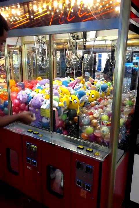 Elaut Triple Claw Plush Crane Machine Youtube