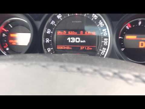 Citroen C5 HDi 200 расход топлива