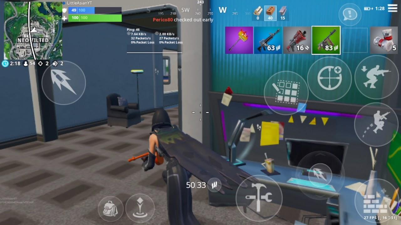 Fortnite Mobile Season 9 Gameplay (iPhone 7) - YouTube