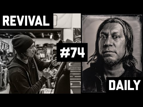 Tintype Photography Handbuilt Show 2019 Day 2 // Revival Daily #74