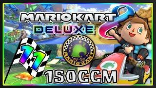 MARIO KART 8 DELUXE Part 11: Crossing-Cup 150ccm Deluxe