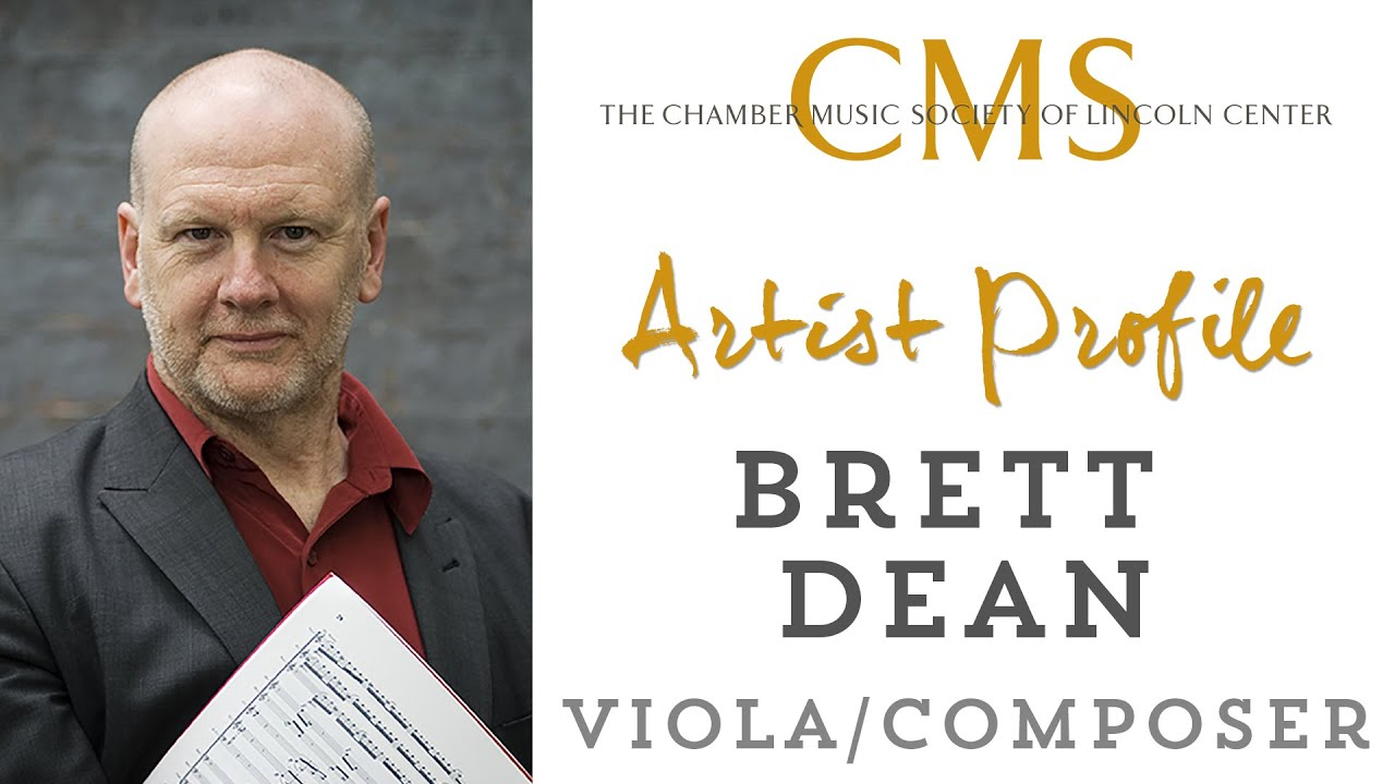 Brett Dean Artist Profile - May 2013