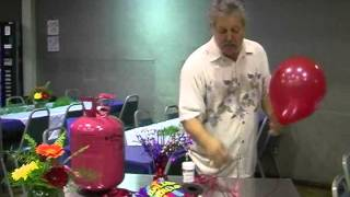 80th Birthday Party Floral Design EP 42