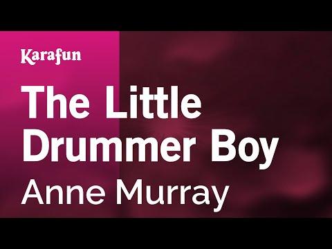 The Little Drummer Boy - Anne Murray   Karaoke Version   KaraFun