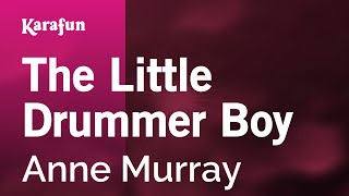 Karaoke The Little Drummer Boy - Anne Murray *