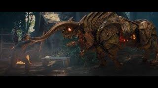 Percy Kill The Machine Bull Scene   Percy Jackson The Sea Monster (2013)