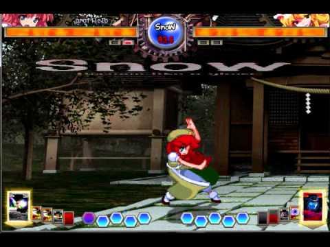 Touhou - Hong Meiling - Random Ass Kicking.