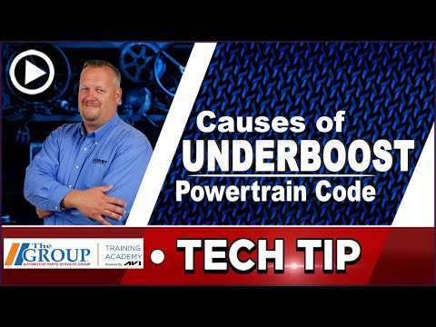 What Causes Turbocharger Underboost? | Tech Tip
