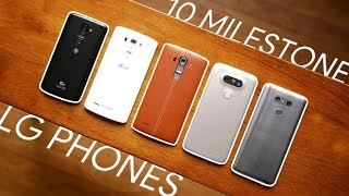 10 phones that redefined LG