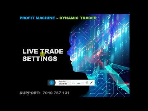 PROFIT MACHINE DYNAMIC TRADER ROBO SETTINGS - ENGLISH