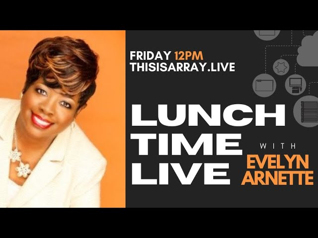 Get Paid to Shop feat Evelyn Arnette - Lunchtime Live