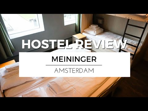 Visiting AMSTERDAM With MEININGER Hotels | HOSTEL REVIEW TRAVEL VLOG #Ad