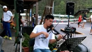 【庾澄慶 - 缺口】《等一個人咖啡》電影主題曲簡伯廷 電子小提琴手 演奏 Violin Cover