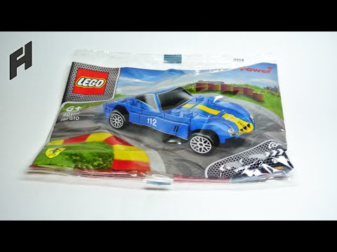LEGO Ferrari 250 GTO (unboxing and building instructions) - YouTube