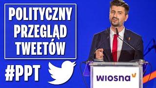Partia Wiosna chce karać więzieniem za homofobię - Polityczny Przegląd Tweetów.