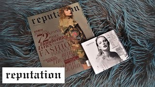 UNBOXING: Taylor Swift - Reputation (Deluxe Vol. 2) | JJ