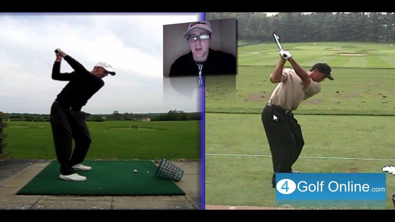 Backswing Hip Turn Golf Lesson