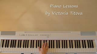 Гречка - люби меня люби (как играть на пианино)