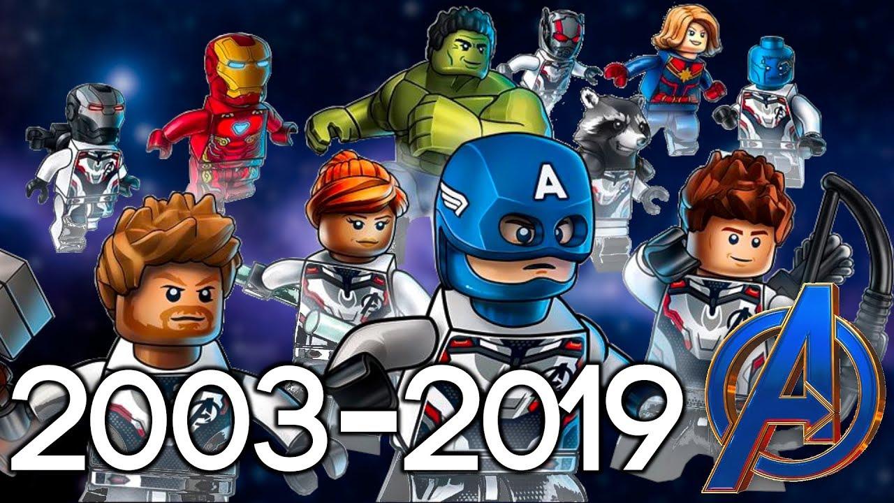 Every LEGO Marvel Superheroes Set EVER MADE 2003-2019