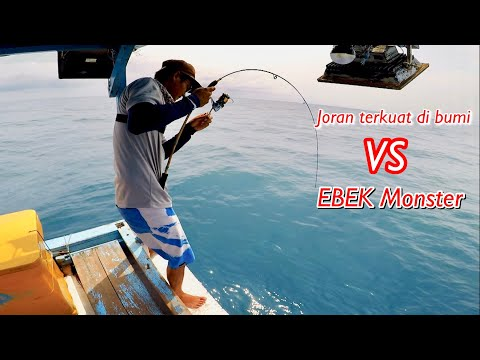 Extreme Jigging II REKOR Strike Ikan Terbesar, Diamond Trevally 11kg