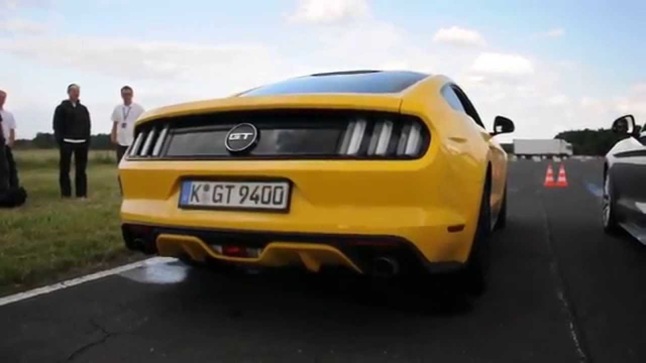 Ford mustang gt 5 0 v8 vs ford mustang 2 3 ecoboost exhaust sound