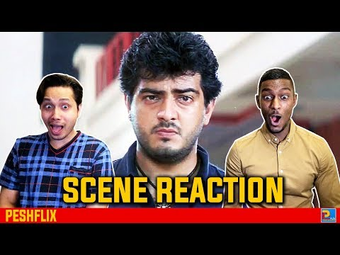 Dheena Mass Scene Reaction | Ajith Kumar | PESHFlix Entertainment