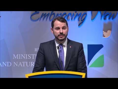 World Energy Congress | Berat Albayrak, Minister of Energy, Turkey , Press Conference