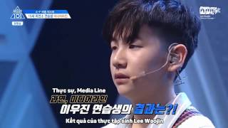 [Vietsub | Live] [Dear My Aries] Intro + Baby - Lee Woo Jin(이우진) @ Mnet Produce 101 ep 2 cut