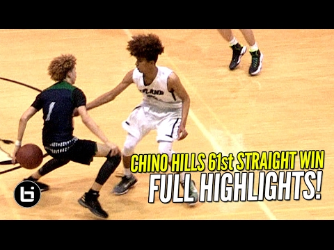 Chino Hills EASY 60th Straight Win But Opposing Crowd Was The Real MVP! FULL Highlights