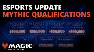 Magic Esports Update: 2019 Mythic Championship Qualifying and the World Championship