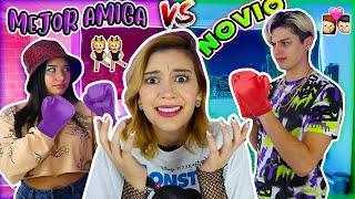 NOVIO vs MEJOR AMIGA 😱¿QUIEN ME CONOCE MEJOR?- Lulu99