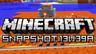Minecraft Red Sand And Minecart Command Blocks Snapshot 13w39a