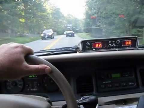 Police Kustom Electronics KR 10 SP Radar Set YouTube