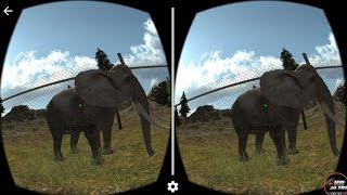 VR Virtual Zoo HD 3D SBS