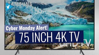 Deal Alert! The Best 75 Inch Smart TV 4K TV Now On Amazon Cyber Monday, Get Yours Before It Ends