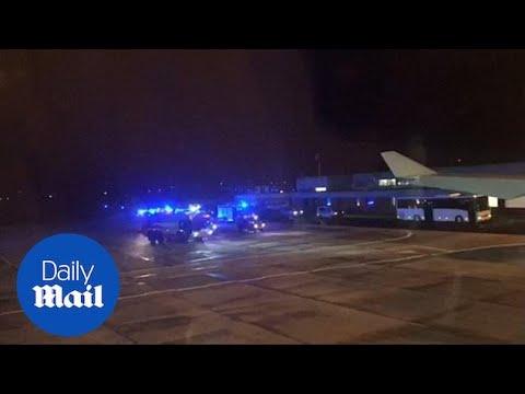 Merkel's plane makes emergency landing on way to G20