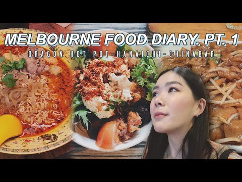 FIX Langsung Mau ke Melbourne || MELBOURNE Food Pt. 1, Dragon Hot Pot, Hanaichi, China Bar