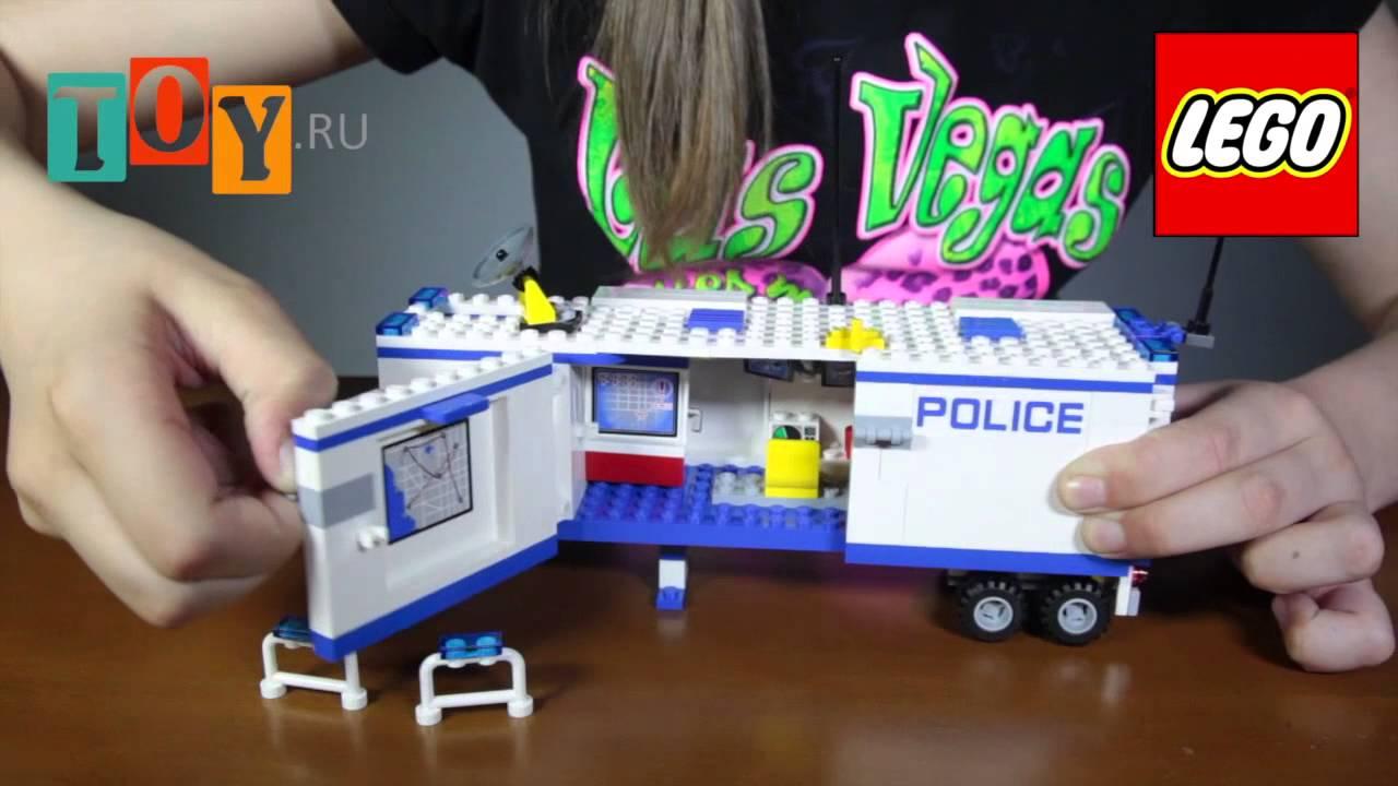 Лего Сити Lego City 60044 Выездной отряд полиции DETKAMNADO COM UA .