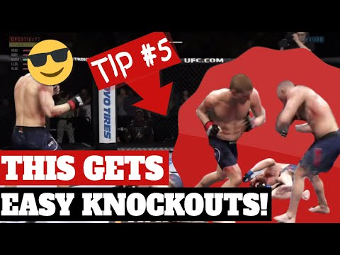10 Best UFC 3 Striking Tips EVER Given On This Channel | [Land Easy Knockouts In EA UFC 3]