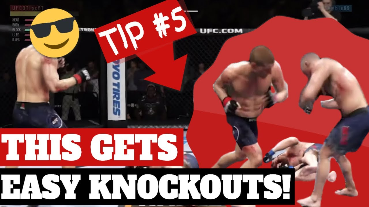 10 Best Ufc 3 Striking Tips Ever Given On This Channel Land Easy Knockouts In Ea Ufc 3 Youtube