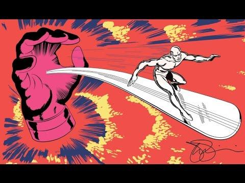 Silver Surfer (1995 Cartoon) Surfing with the Alien (Joe Satriani)