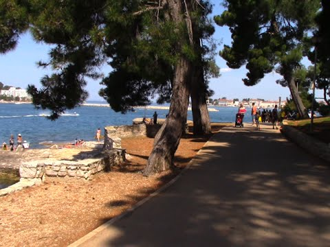 Porec 2015 - Coastal walk into town from Valamar Crystal/Diamant Hotels and towards Zelena Laguna