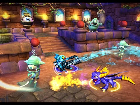 Skylanders: Spyro's Adventure E3 First look review- Action Figures