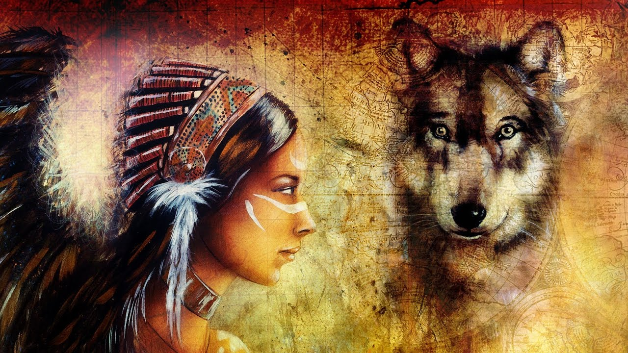 Native American Music And Nature Sounds Flute Forest And River Meditation Nature Music Youtube