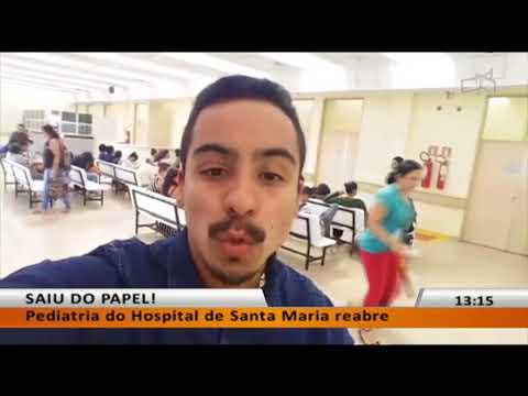 JL -  Pediatria do Hospital de Santa Maria reabre