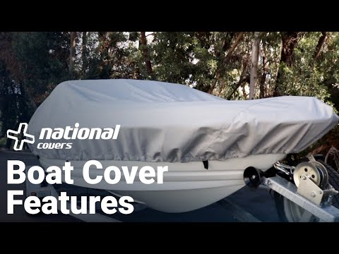 Windstorm Boat Cover Features | National Covers