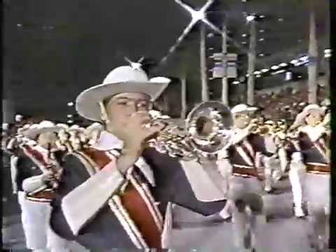 Shikellamy Marching Braves (1987 Orange Bowl Parade)