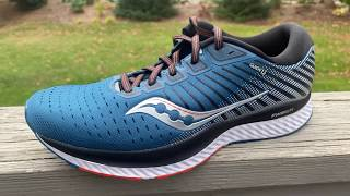 saucony GUIDE 13 Initial Run Review and Shoe Details